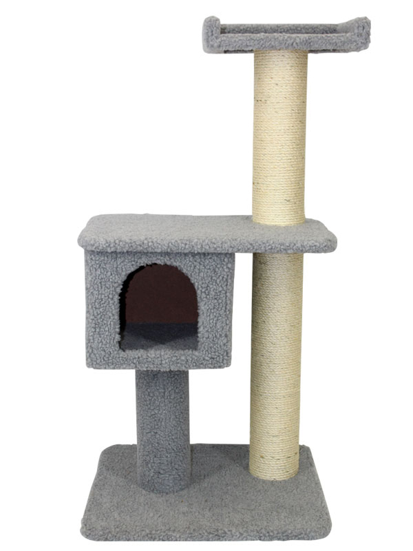 Cat scratching post sp110g for Homemade cat post