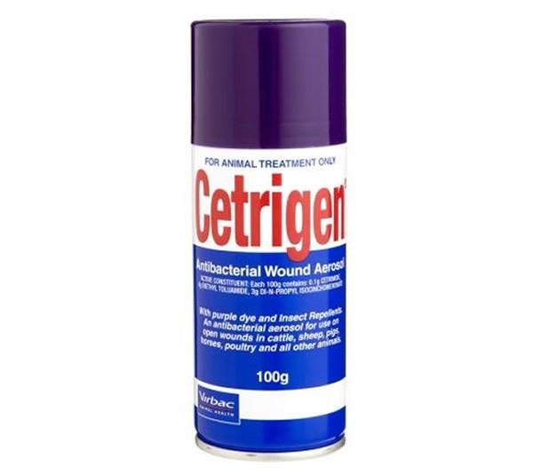 Virbac Cetrigen Aerosol Spray 100g