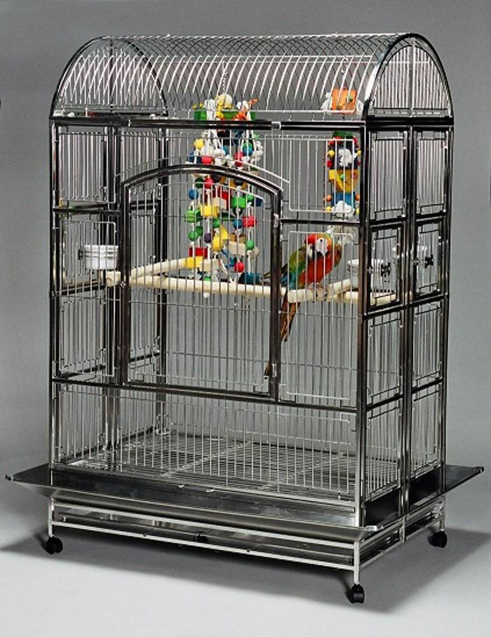 Featherland Stainless Steel Parrot Cage Extra Extra Large