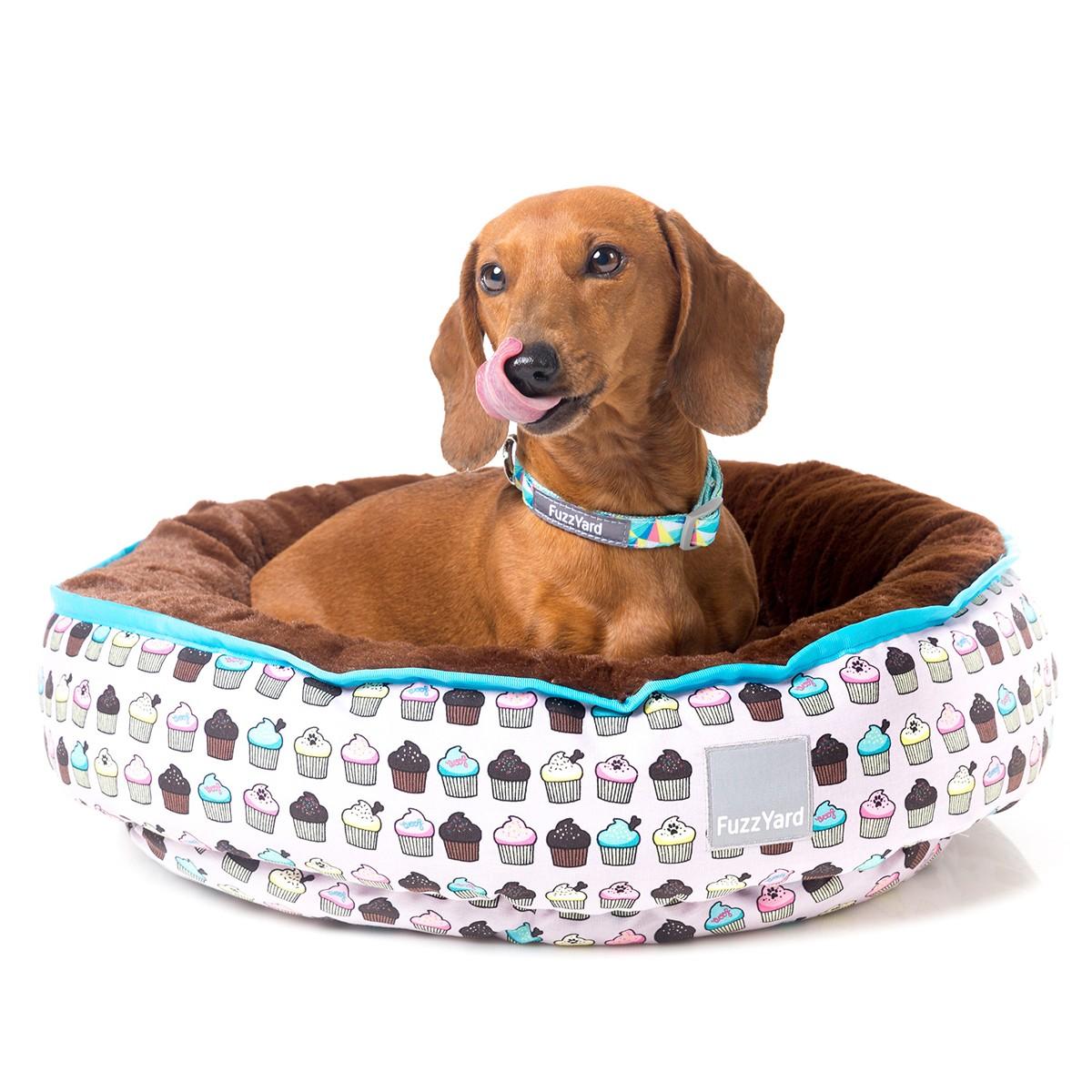 Fuzzyard Cupcakes Reversible Pet Bed Small