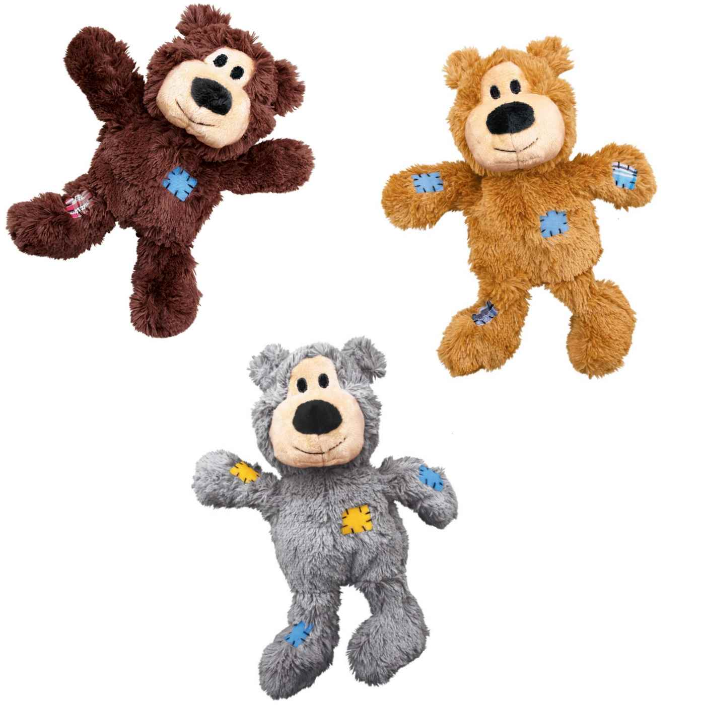 Pet Shop Direct Kong Wild Knots Plush Bear Medium Large