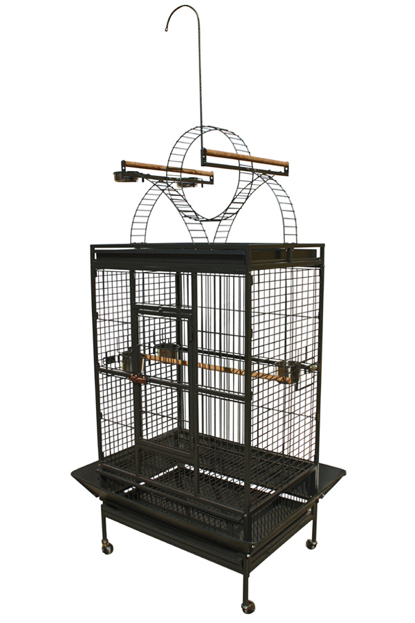Large Bird Cage With Play Top Pt8159