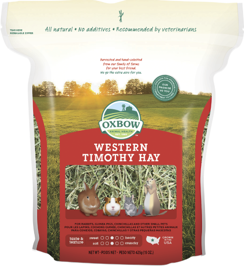 Pet Shop Direct Oxbow Western Timothy Hay 4kg Sale