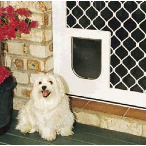 Pet Shop Direct Petway Security Pet Door White Small