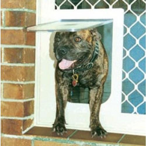 Petway Security Pet Door Brown Medium