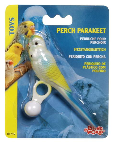 Pet Shop Direct Living World Bird Plastic Parakeet