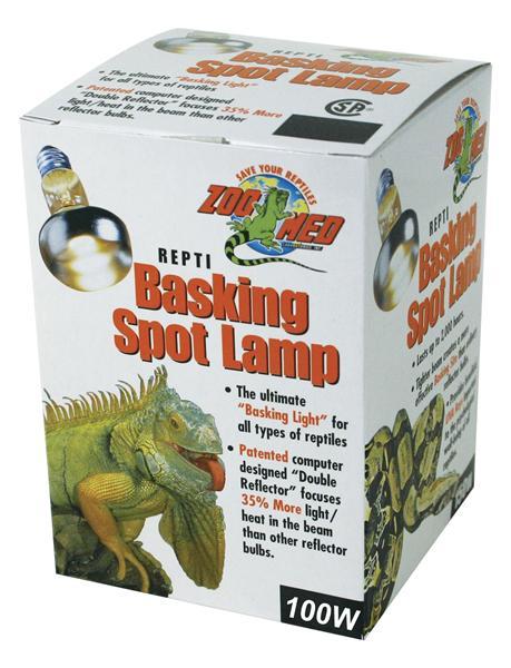 Pet Shop Direct Zoo Med Repti Basking Spot Lamp 100w