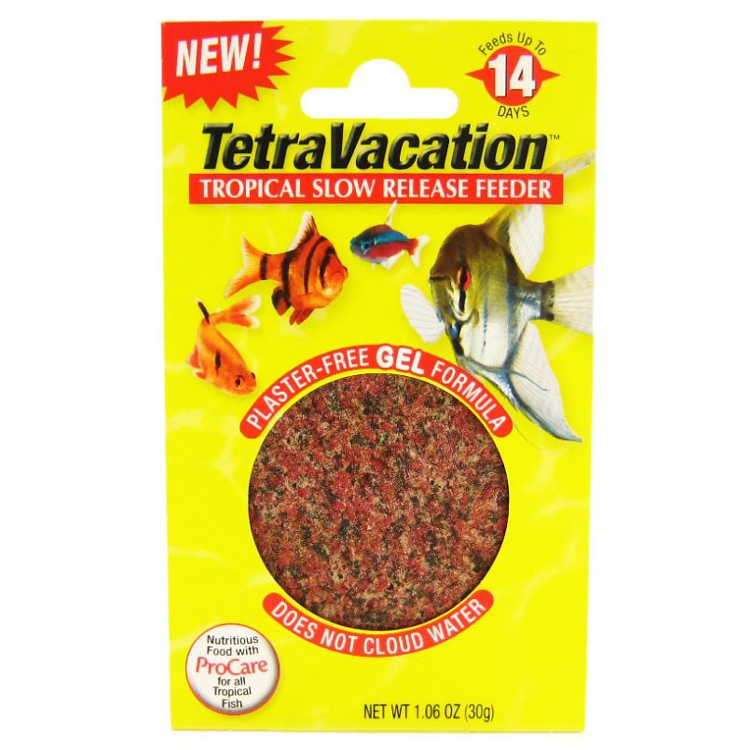 Pet Shop Direct Tetra Vacation Feeder Gel Block 30g